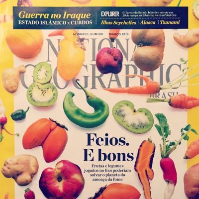 National Geographic: frutas e legumes jogados no lixo poderiam salvar o planeta da ameaça da fome