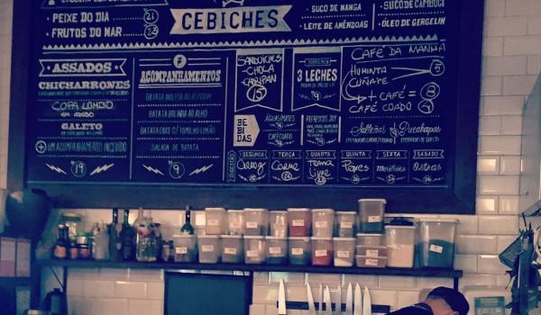 SÃO PAULO: Comedoria Gonzales e seu ceviche no Mercado de Pinheiros