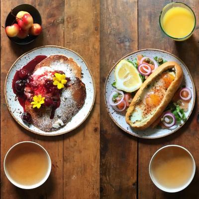 A delícia de curtir um pouco a sua manhã